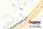 Схема проезда до компании Автосервис в Магнитогорске