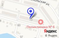 Схема проезда до компании ДЕТСКАЯ ПОЛИКЛИНИКА N 2 в Сатке