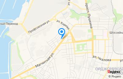 Местоположение на карте пункта техосмотра по адресу Челябинская обл, г Магнитогорск, ул Магнитная, д 9