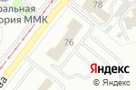 Схема проезда до компании ТОРГОВЫЙ ДОМ ММК в Магнитогорске