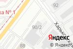 Схема проезда до компании Энергострой в Магнитогорске
