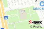 Схема проезда до компании Дворец культуры метизников в Магнитогорске