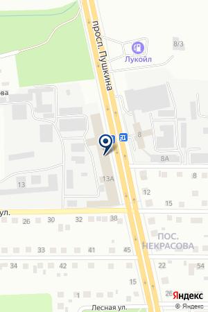 ECOSTYLE (ЭКОСТИЛЬ) на карте Магнитогорска