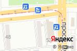 Схема проезда до компании Удача в Магнитогорске