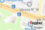 Схема проезда до компании Экспресс-Сервис в Магнитогорске