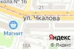 Схема проезда до компании Красное & Белое в Магнитогорске