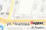 Схема проезда до компании Чкаловский в Магнитогорске