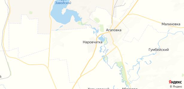 Наровчатка на карте