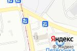 Схема проезда до компании Спутник в Магнитогорске