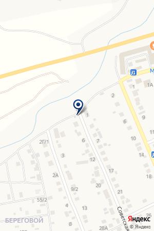 Шиномонтаж на карте Агаповки