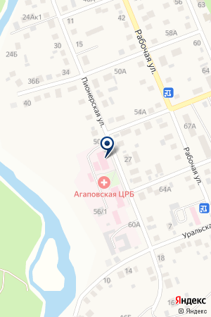 Детская поликлиника на карте Агаповки