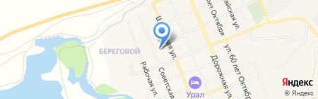 Автосервис на карте Агаповки