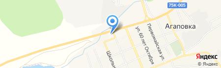 ТНП на карте Агаповки