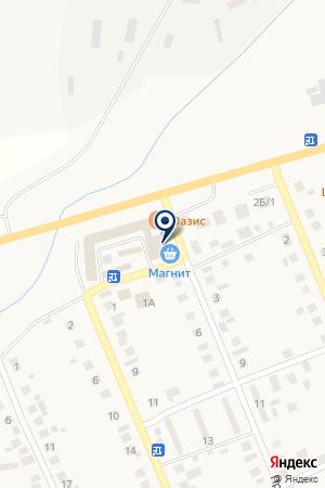 Оазис на карте Агаповки