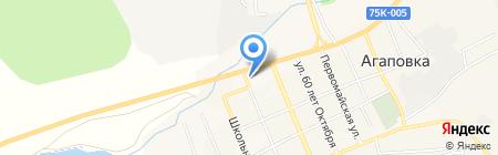 Производственно-торговая компания на карте Агаповки