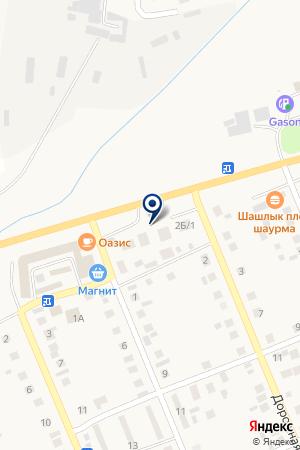 Автозапчасти на карте Агаповки