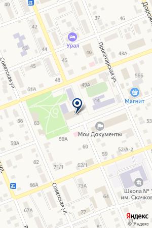 Бизнес Аудит на карте Агаповки