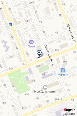 Администрация Агаповского сельского поселения на карте Агаповки