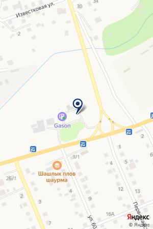 АЗС Салават на карте Агаповки