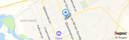 Инспекция гостехнадзора Агаповского района на карте Агаповки