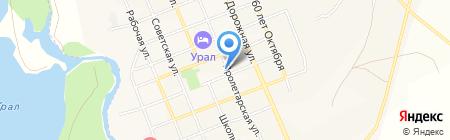 У Людмилы на карте Агаповки