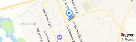Дом Нуга Бест на карте Агаповки