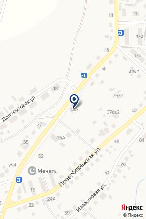 Гараж на карте Агаповки