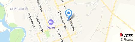Отдел военного комиссариата Челябинской области по Агаповскому и Кизильскому районам на карте Агаповки