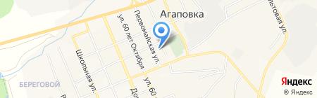 Храм в честь Владимирской иконы Божией Матери на карте Агаповки