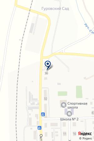 Автомастер на карте Агаповки