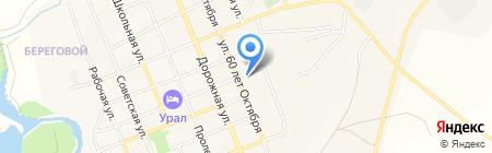 Сельский на карте Агаповки