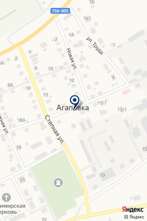 АЗС N 23 ЛУКОЙЛ-УРАЛНЕФТЕПРОДУКТ на карте Агаповки
