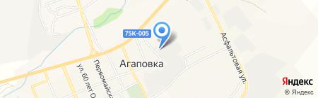 Платежный терминал Челябинвестбанк на карте Агаповки