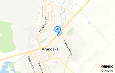 Местоположение на карте пункта техосмотра по адресу Челябинская обл, с Агаповка, ул Асфальтовая, д 2Б