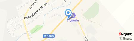 Автомойка на карте Агаповки