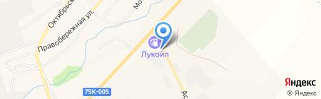 Шашлычная на карте Агаповки