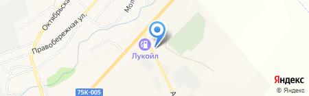 Штрафстоянка на карте Агаповки