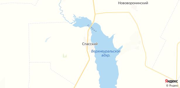 Спасский на карте