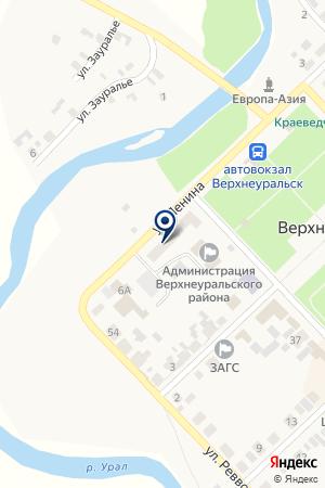АПТЕКА N 181 на карте Верхнеуральска