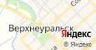 Управление пенсионного фонда РФ в Верхнеуральском районе на карте