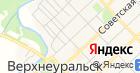 Отдел ГИБДД Управления МВД по Верхнеуральскому району на карте