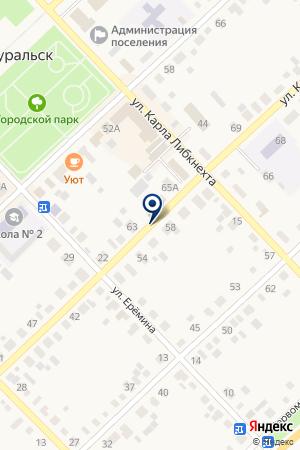 ДЕТСКИЙ ДОМ на карте Верхнеуральска