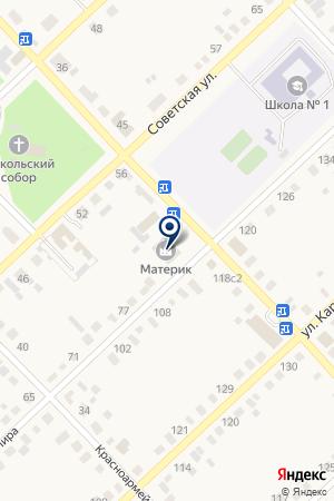 Землеустроитель на карте Верхнеуральска