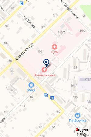 АПТЕКА N 5 на карте Верхнеуральска
