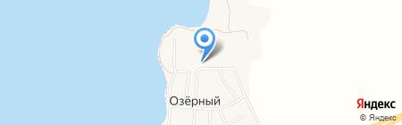 Озерный фельдшерско-акушерский пункт на карте Ближнего