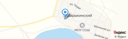 Почтовое отделение на карте Бабарыкинского