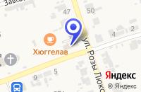 Схема проезда до компании РОСПЕЧАТЬ в Нижних Сергах