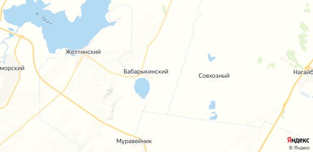 Бабарыкинский на карте