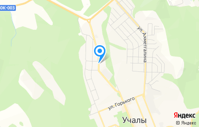 Местоположение на карте пункта техосмотра по адресу Респ Башкортостан, г Учалы, ул Кунакбаевская, д 4 к 1
