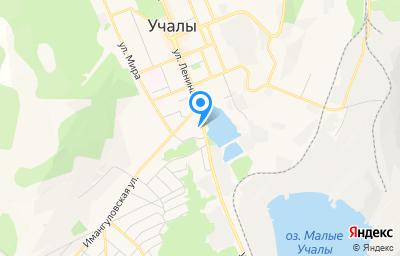 Местоположение на карте пункта техосмотра по адресу Респ Башкортостан, г Учалы, ул Энергетиков, д 7